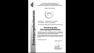 Waste Management Certificate (Efb)